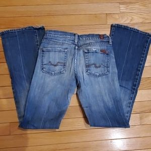 Seven 7 for all mankind women's jeans,  size 25